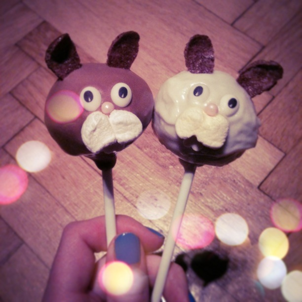 [ Blogger For Spring ] - Easter Bunny Cake Pops Rezept (2/6)