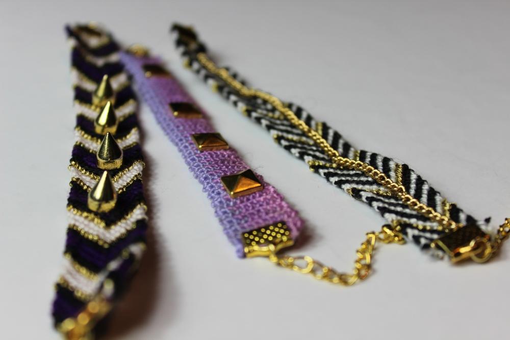 [ Blogger For Spring ] - DIY Studded Bracelets  (2/6)