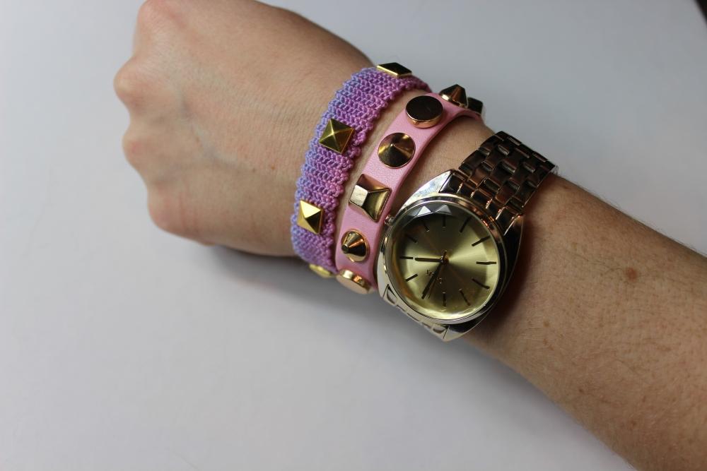 [ Blogger For Spring ] - DIY Studded Bracelets  (5/6)