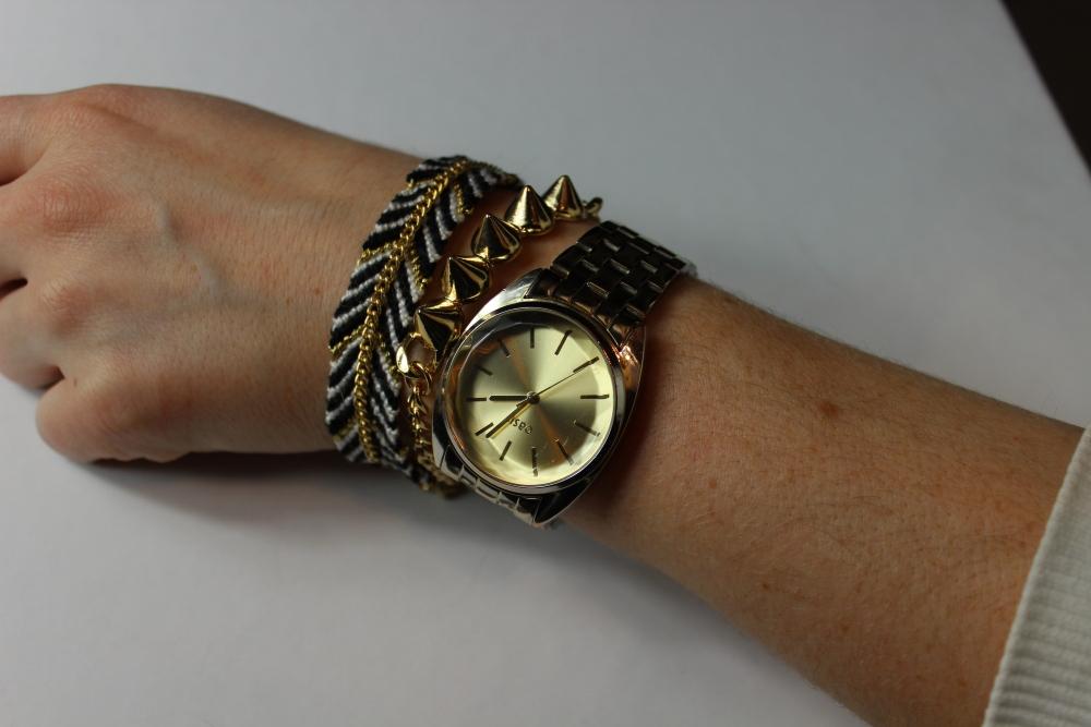 [ Blogger For Spring ] - DIY Studded Bracelets  (4/6)