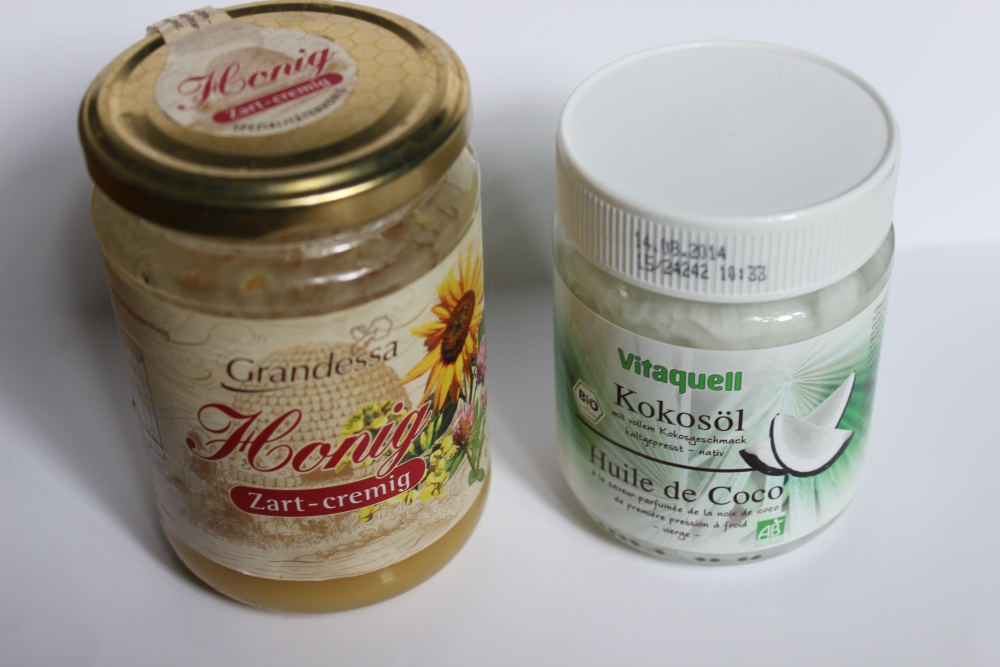 [ Blogger For Spring ] - Kokosöl/Honig Haarmaske  (2/4)
