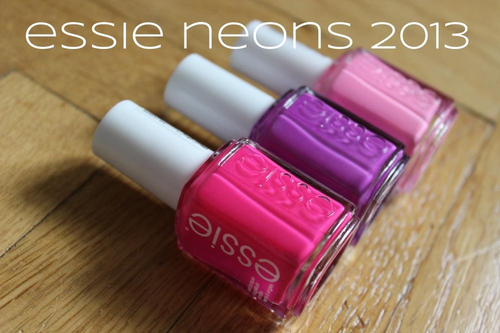 Essie's Neon 2013 - Kollektion (1/6)