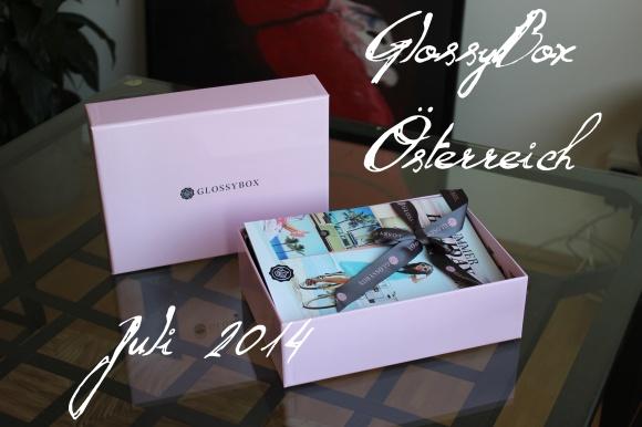 Glossy Box Österreich Juli 2014