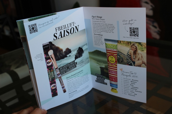 GlossyBox Österreich Juli 2014