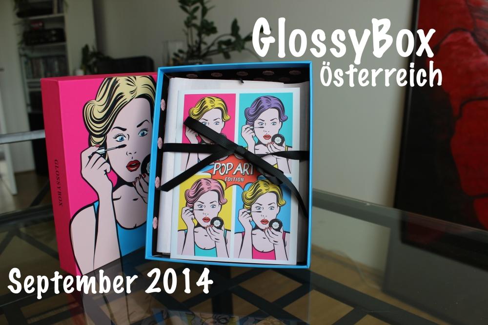 GlossyBox Österreich - September 2014 [Popart Edition] (1/6)