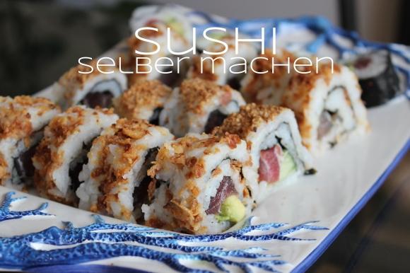 sushi selber machen rezept